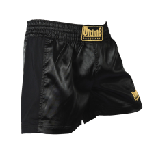 Black & gold unisex shorts