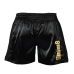 Black & gold unisex shorts