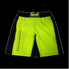 Classic MMA shorts - Yellow